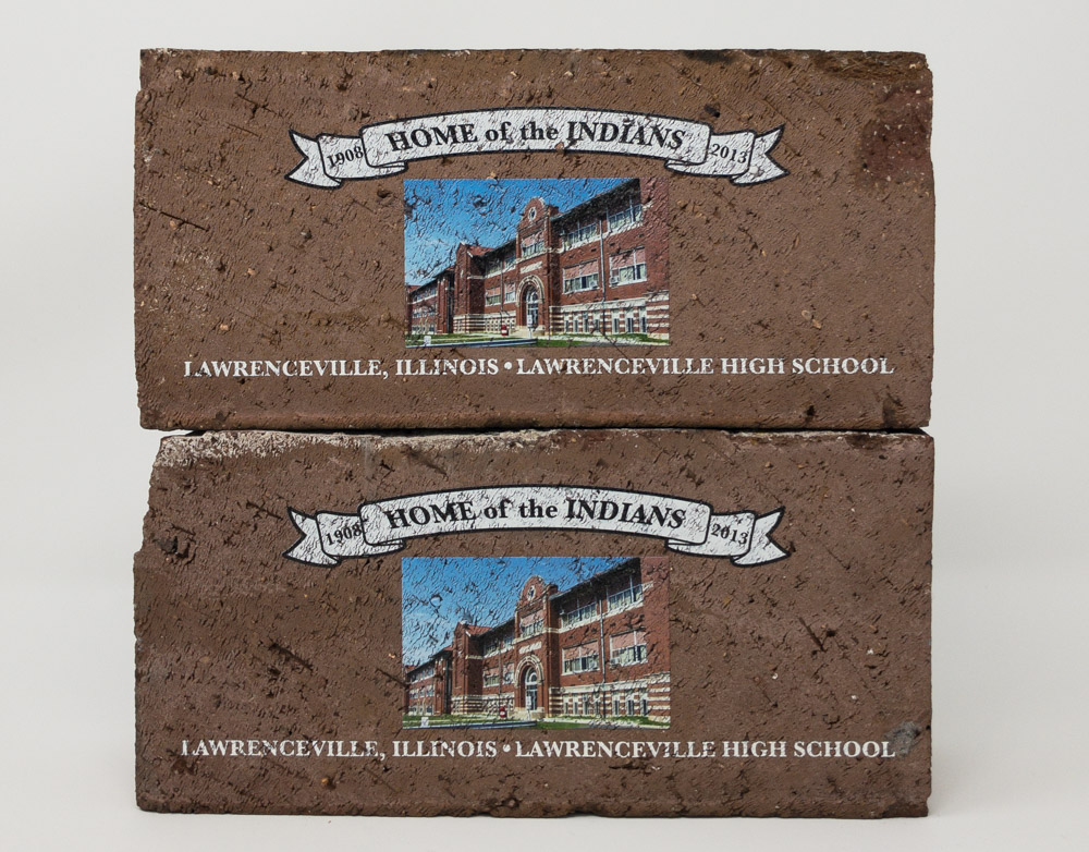 Custom UV Printed Brick