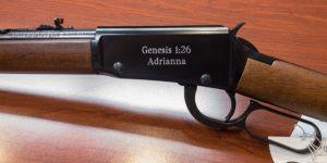 Engraved Gun