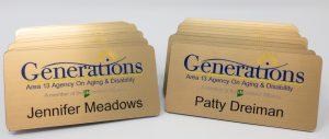 UV Printed Name Badges