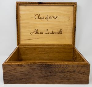 Laser Engraved Wood Box
