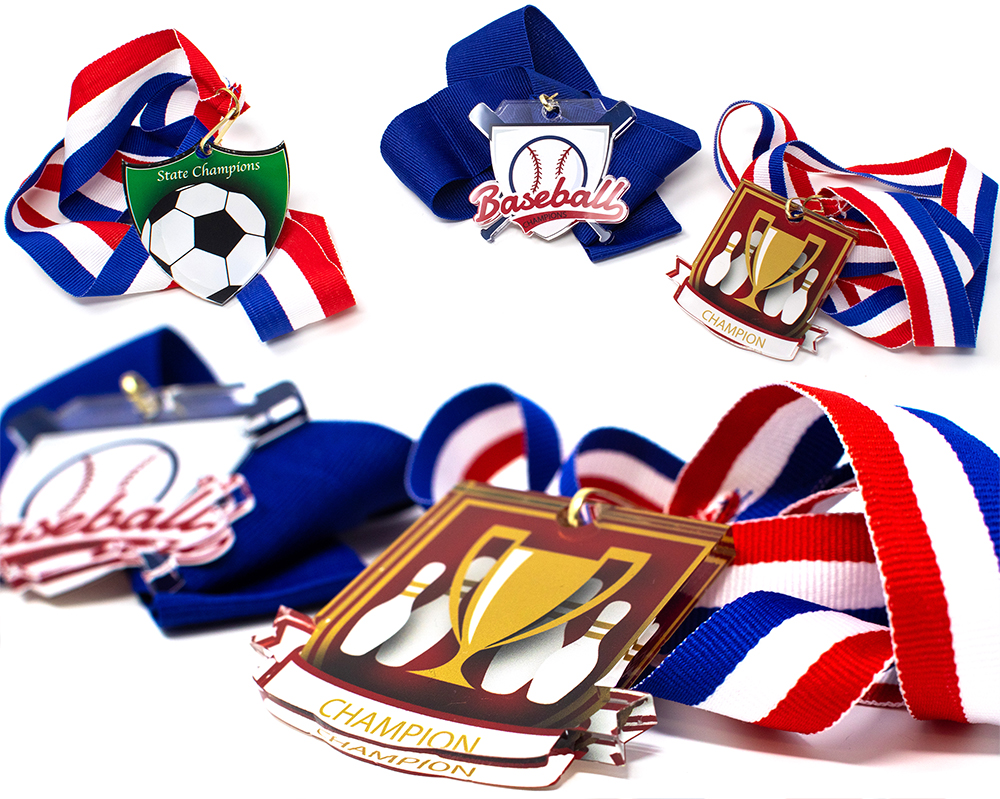 Custom Acrylic Medals