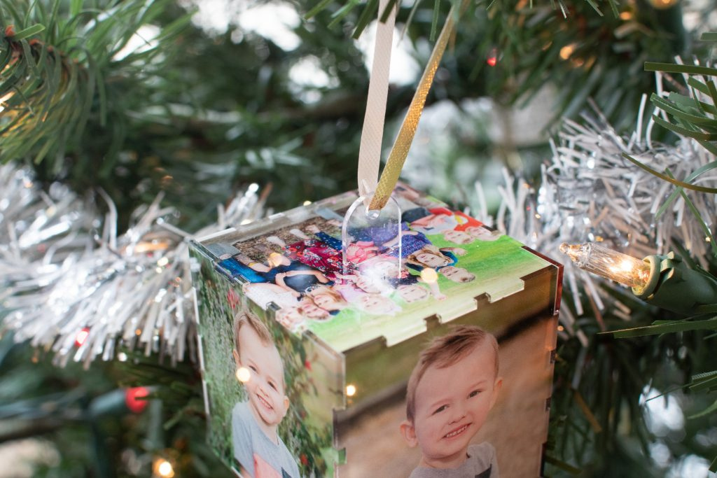 Personalized Acrylic Printed Photo Ornaments